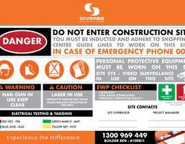 #12 untuk Construction Site Safety Sign oleh alexrodel