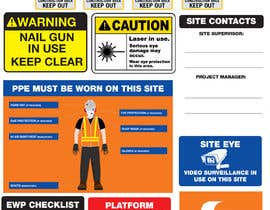 #25 untuk Construction Site Safety Sign oleh logoseo
