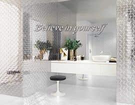 Nro 14 kilpailuun Bathroom wall mosaic design käyttäjältä farhanajahan49