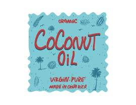 #36 untuk Coconut oil logo oleh Ashik0682