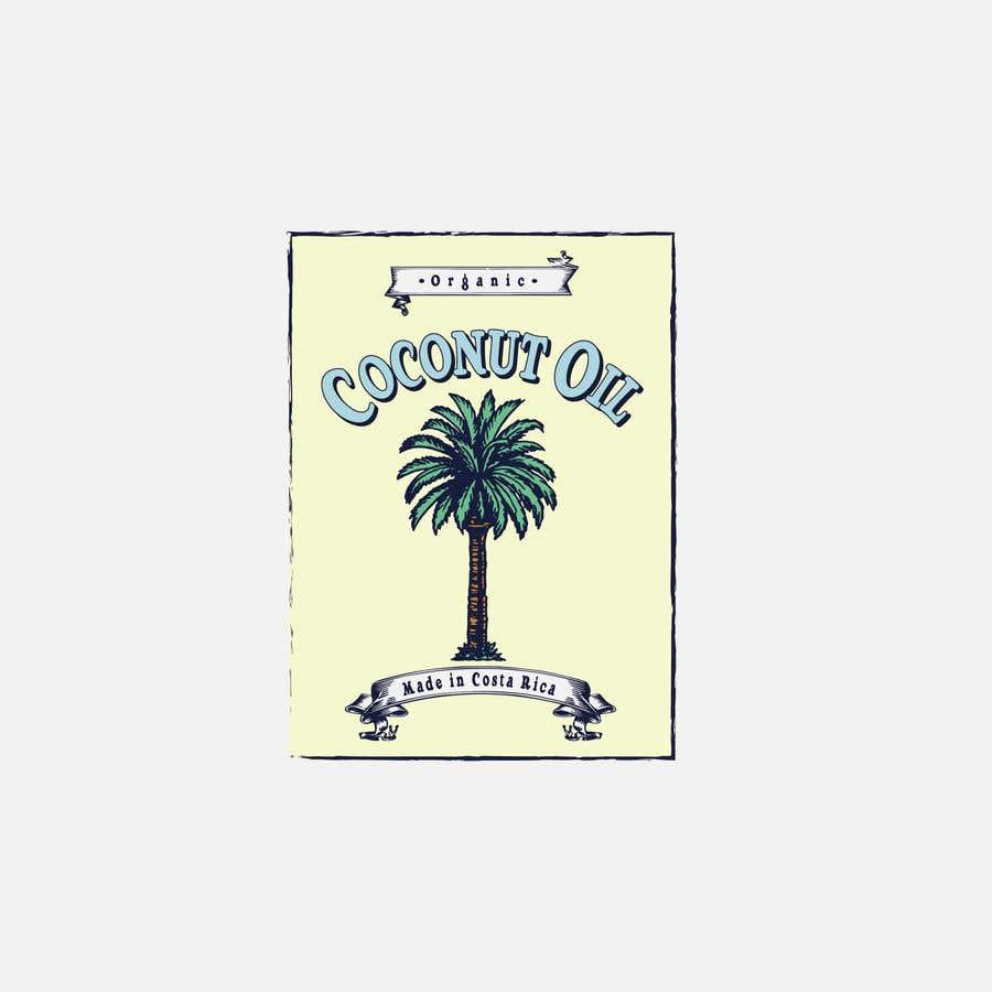 Kilpailutyö #30 kilpailussa Coconut oil logo