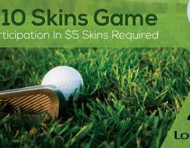 Nro 11 kilpailuun Promo graphic (golf) käyttäjältä swapnashet