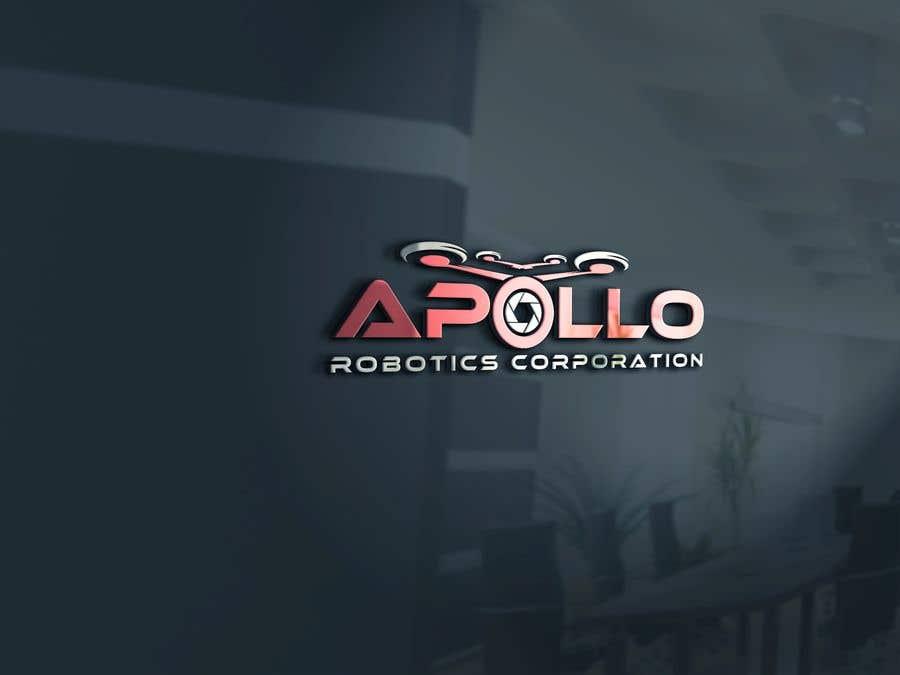 Penyertaan Peraduan #381 untuk New Logo for Apollo Robotics