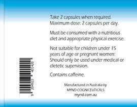 Nro 70 kilpailuun Label design for pharmaceutical bottle käyttäjältä ChristyArts
