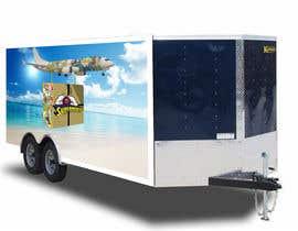 #31 para 18' cargo Trailer design por wilsontiruvalla