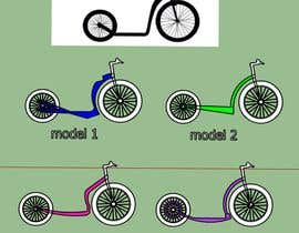 #12 para Build me a few 3d E-Scooter & Kickbike-Frames / Model-variations por jon75ok