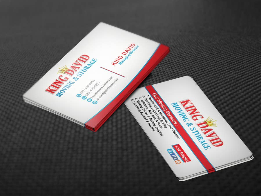 Contest Entry 42 For Design Business Cards Flyers Moving Company