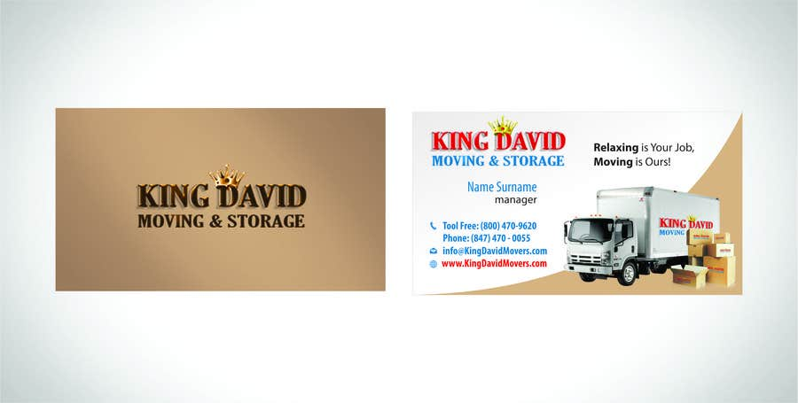 Contest Entry 19 For Design Business Cards Flyers Moving Company