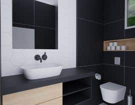 #13 for 3D model + interior design for bathrooms and bedrooms af GagiLupic