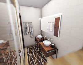 #14 for 3D model + interior design for bathrooms and bedrooms af marikabakova