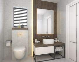 #17 for 3D model + interior design for bathrooms and bedrooms af fridaanantya