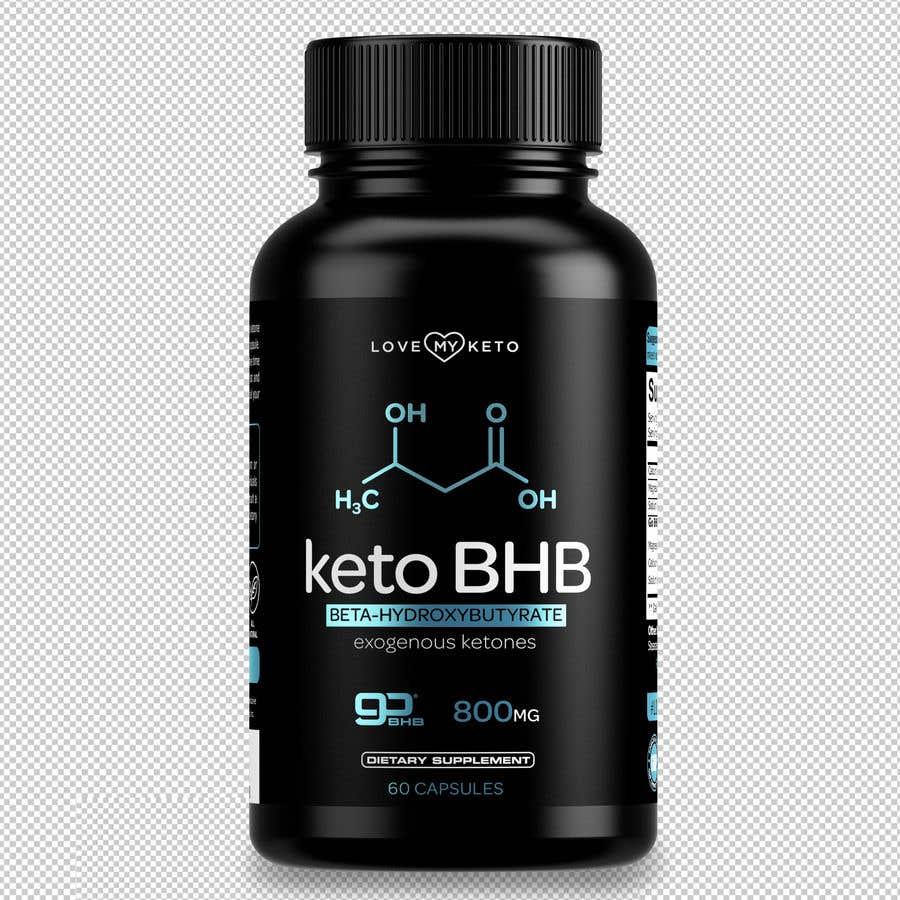 """Konkurrenceindlæg #12 for create product images for my keto supplement website """"1 bottle"""" """"3 bottles"""" """"4 bottles"""""""
