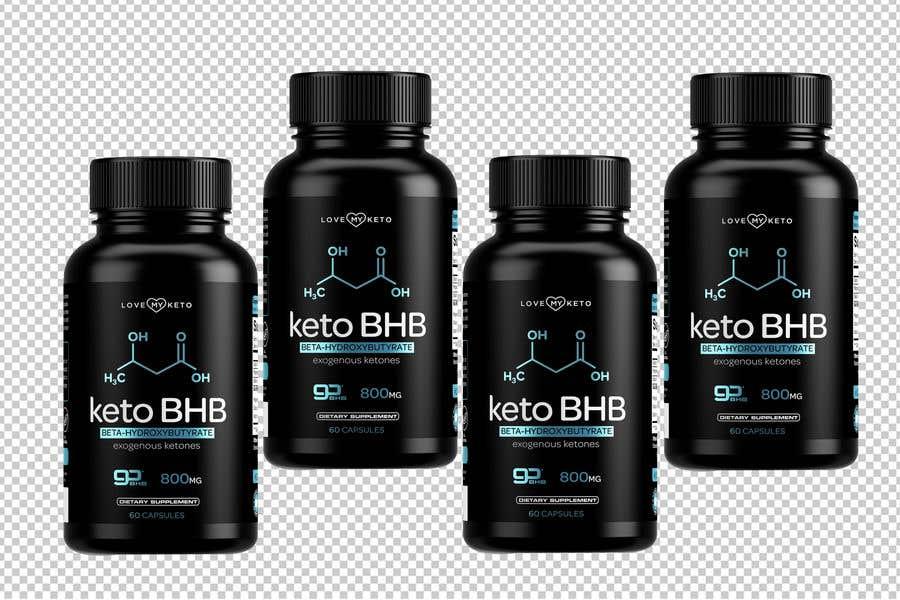 """Konkurrenceindlæg #17 for create product images for my keto supplement website """"1 bottle"""" """"3 bottles"""" """"4 bottles"""""""