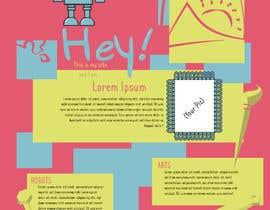 #3 para Graphic Design for Author Page por HansikaSenesh