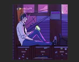 Nro 37 kilpailuun Illustrate A Lo-fi/Anime Style Graphic For Youtube käyttäjältä juanestebanujue