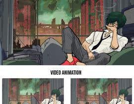 Nro 28 kilpailuun Illustrate A Lo-fi/Anime Style Graphic For Youtube käyttäjältä sxmbrx