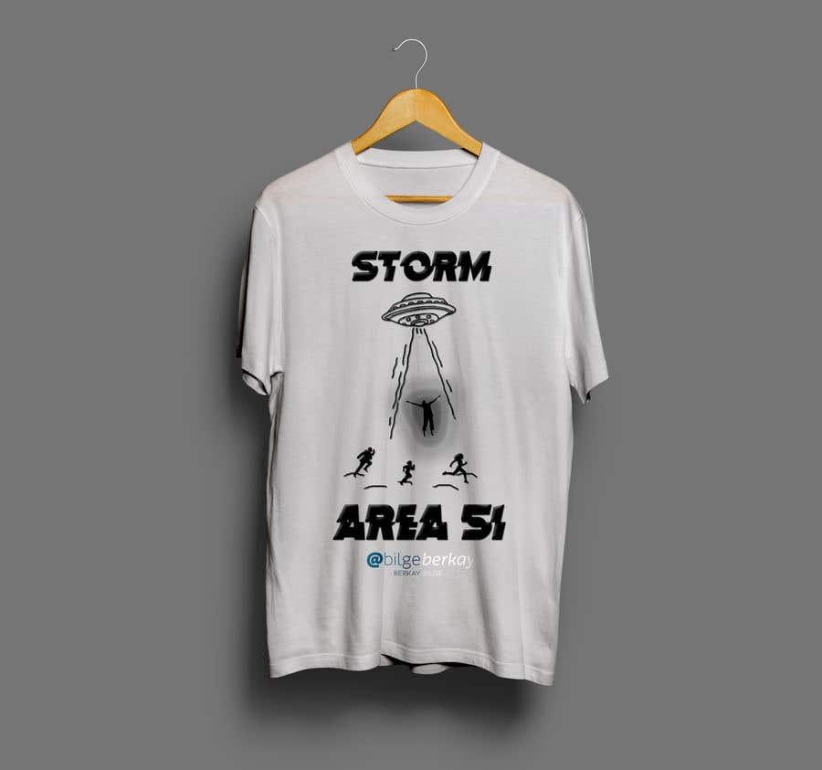 Bài tham dự cuộc thi #8 cho AREA 51 Tshirt design