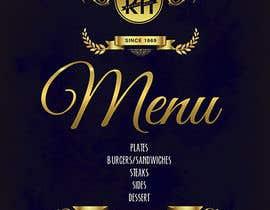 #28 for I need a graphic designer to re-design our menu af Shtofff