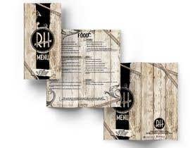 #30 for I need a graphic designer to re-design our menu af luisanacastro110