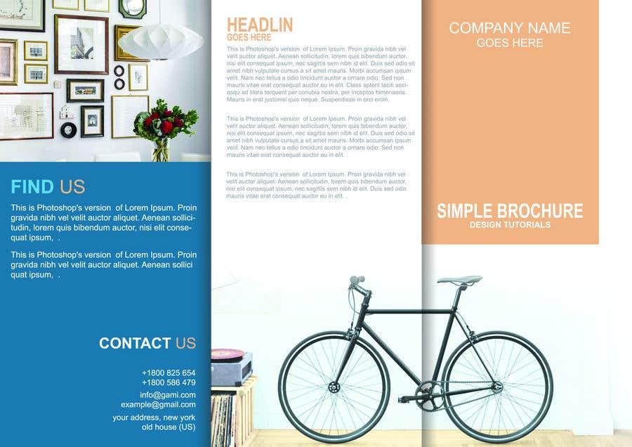 Kilpailutyö #9 kilpailussa Front Page of Brochure Deisgning