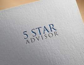 #10 untuk Need logo for 5 star Advisor oleh heisismailhossai