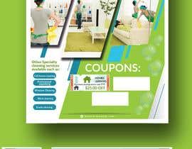 Nro 13 kilpailuun Flyer for my cleaning business käyttäjältä piashm3085