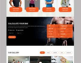 Nro 87 kilpailuun Redesign home page website käyttäjältä hosnearasharif