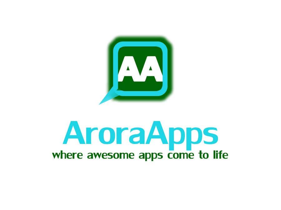 Inscrição nº                                         2                                      do Concurso para                                         Logo Design for Arora Apps