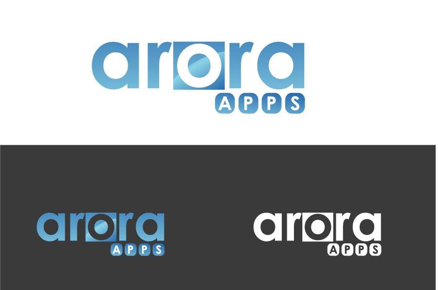 Inscrição nº                                         9                                      do Concurso para                                         Logo Design for Arora Apps