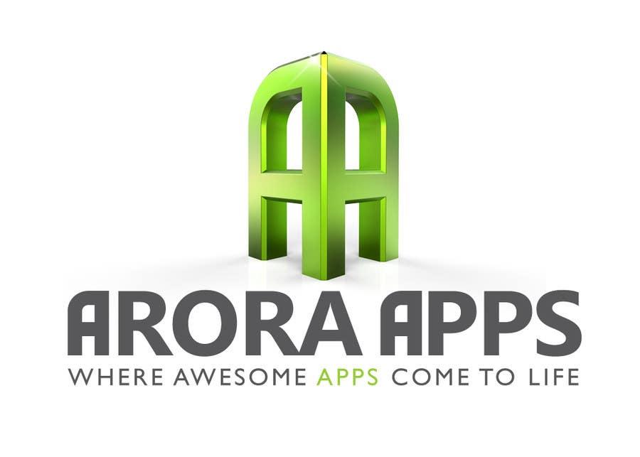 Inscrição nº                                         26                                      do Concurso para                                         Logo Design for Arora Apps
