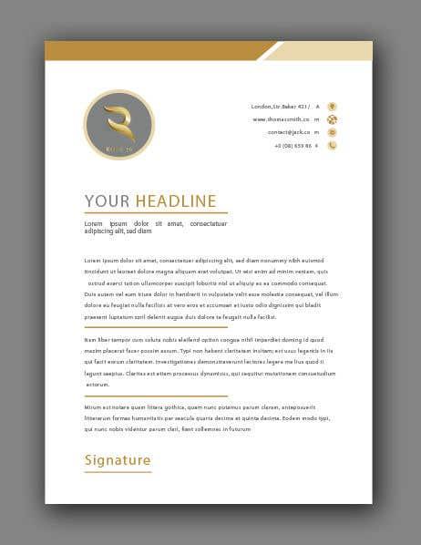 Proposition n°71 du concours Design Letterhead