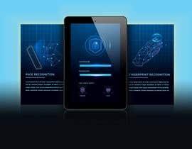 nº 3 pour Design screens for biometric enrolment par logo24060