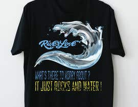 #24 untuk Whitewater style t-shirt design oleh Sha7en