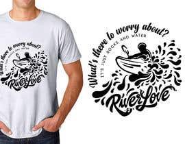 #48 untuk Whitewater style t-shirt design oleh HohoDesign