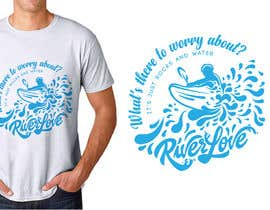 #49 untuk Whitewater style t-shirt design oleh HohoDesign