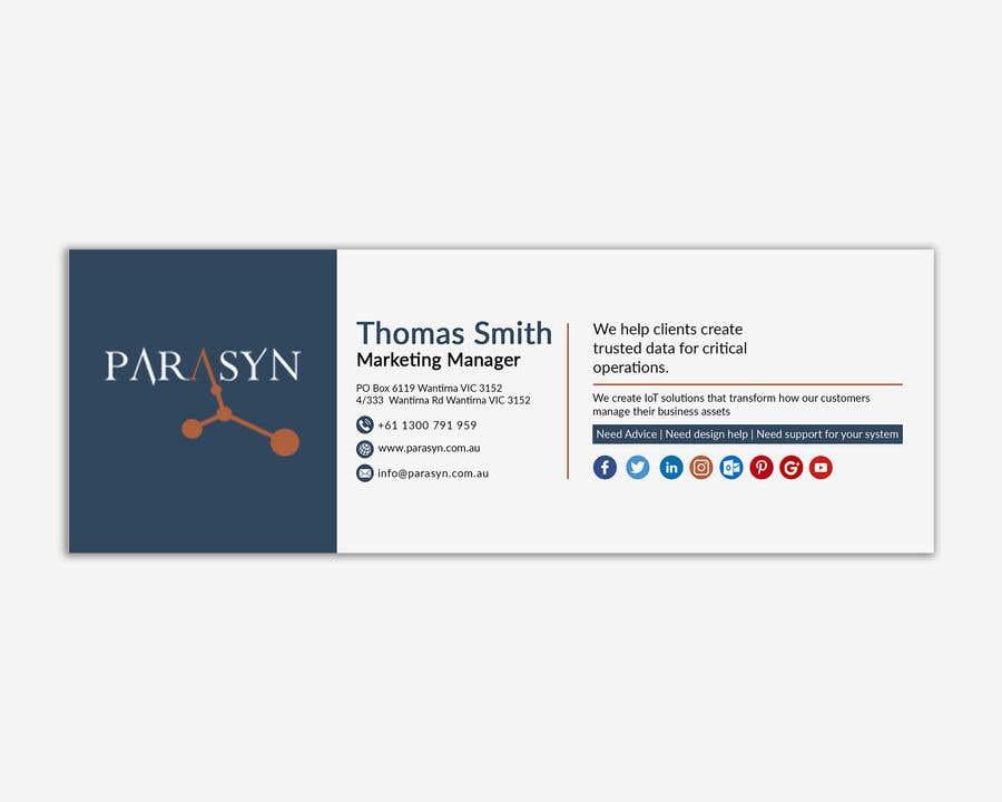 View Email Signature Design  Background