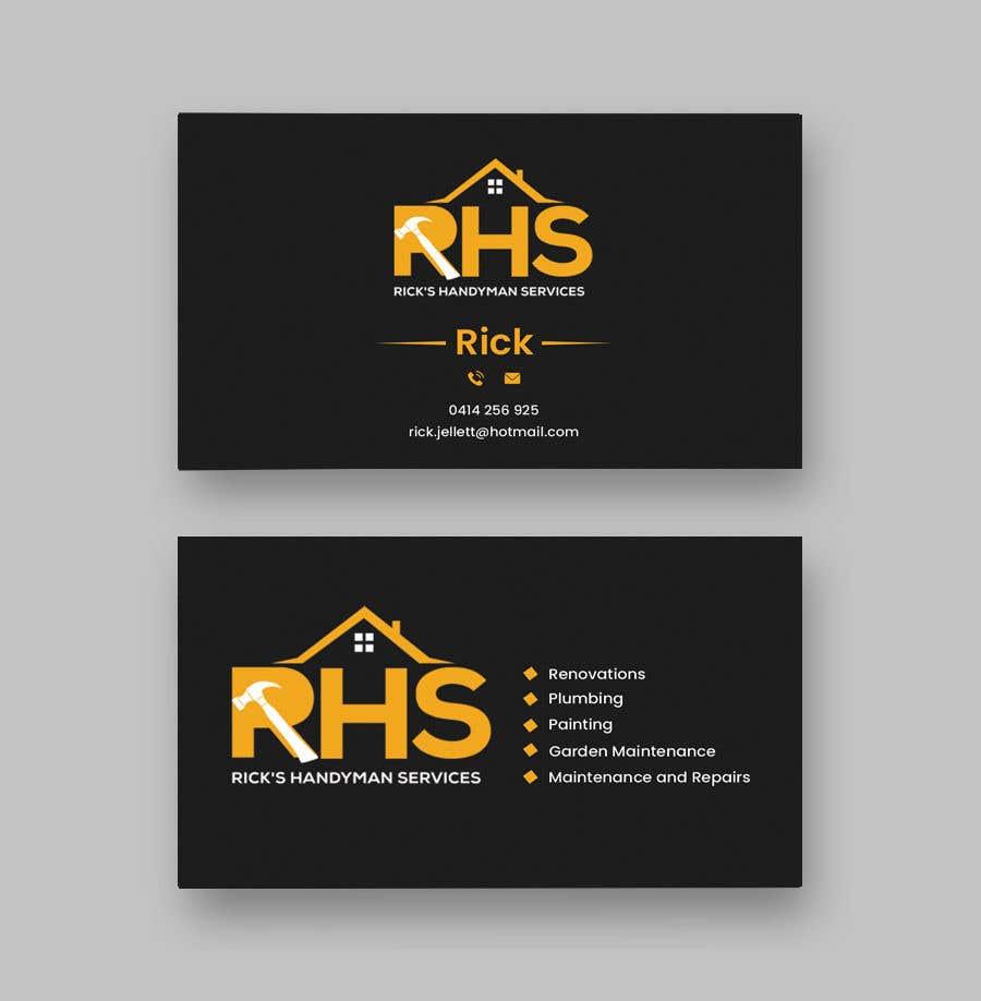 Kilpailutyö #154 kilpailussa Logo and business cards