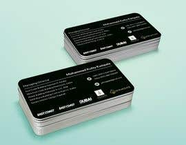 #202 for Design a premium looking and attractive personal business card by tonmoy6