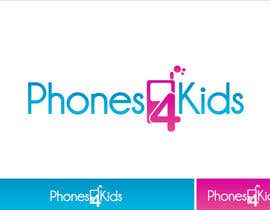 #143 dla Logo Design for Phones4Kids przez Grupof5