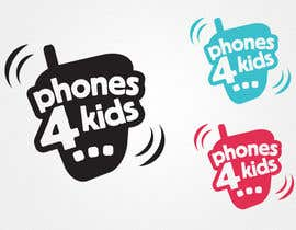 #80 pentru Logo Design for Phones4Kids de către marques