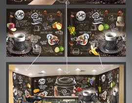 #59 untuk wall paper design for my coffee shop and beakry oleh rajasekaran1753
