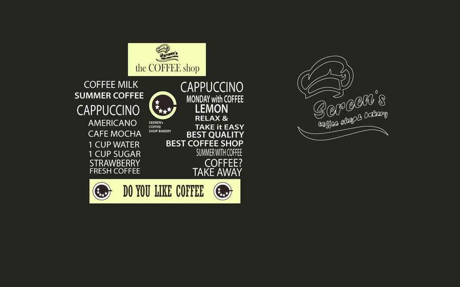 Penyertaan Peraduan #76 untuk wall paper design for my coffee shop and beakry