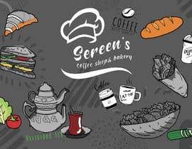 #65 untuk wall paper design for my coffee shop and beakry oleh artbogz