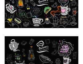 #87 untuk wall paper design for my coffee shop and beakry oleh marisaochoa