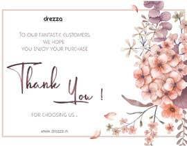 designdhanashree tarafından Thank you card için no 31