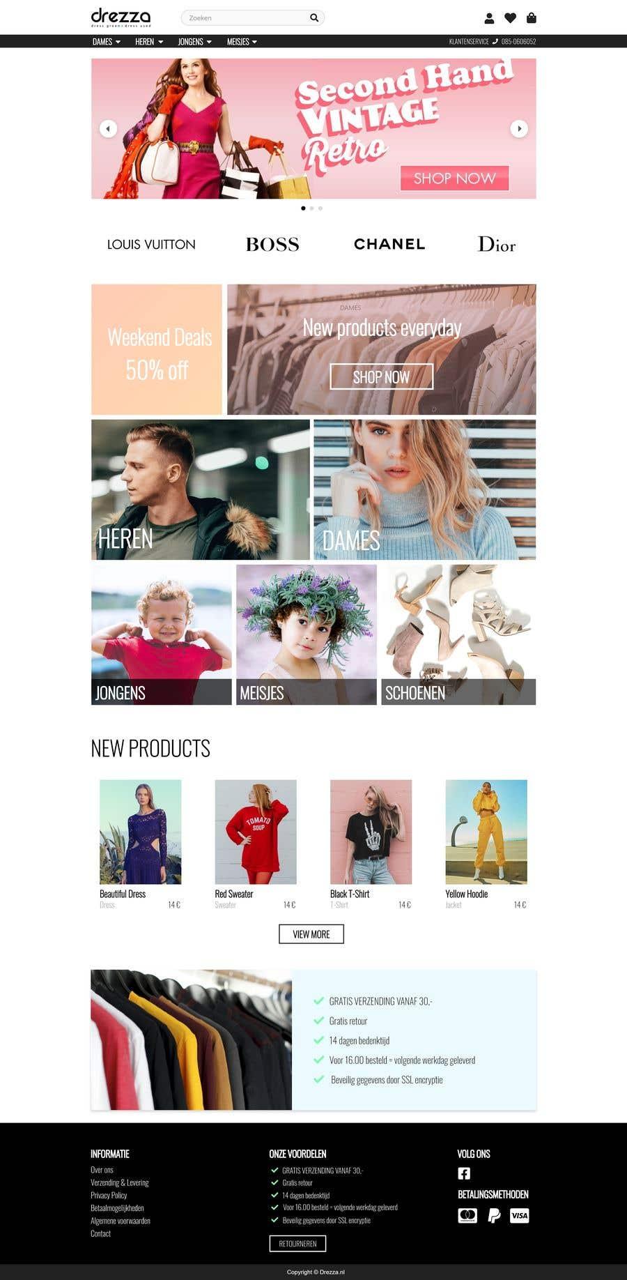 Kilpailutyö #31 kilpailussa Create a new frontend layout