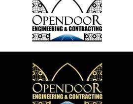 Nro 21 kilpailuun logo ( open door   Engineering and Contracting) käyttäjältä kenko99