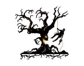 #294 for logo of a scary dead tree and a arborist on it af alinhd