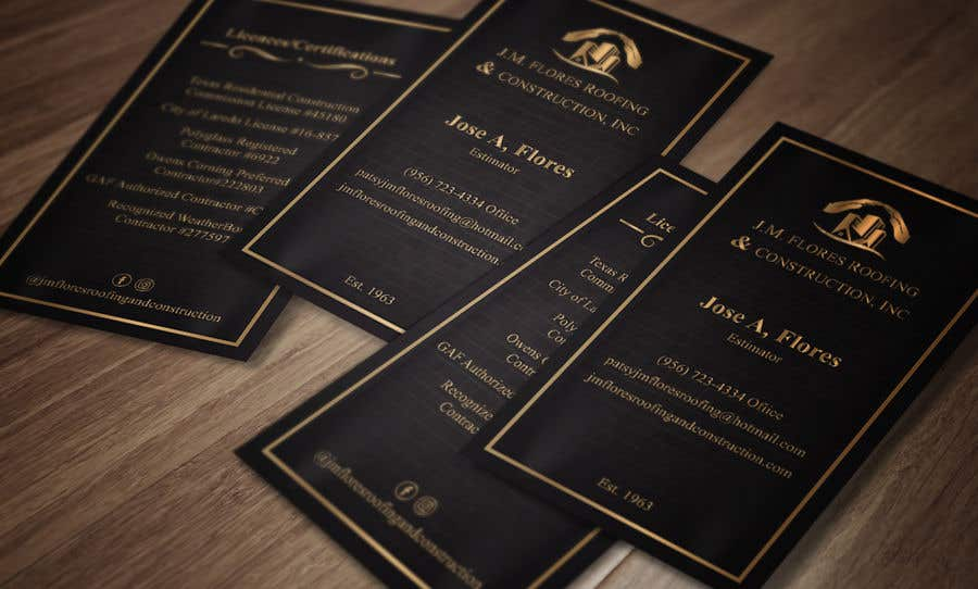 Contest Entry #476 for Graphic Design Business Card - Vertical or Horizontal Samples