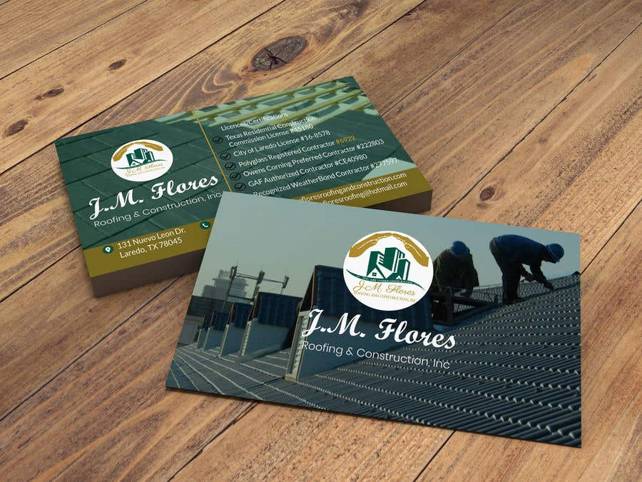 Contest Entry #524 for Graphic Design Business Card - Vertical or Horizontal Samples